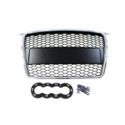 GRILL AUDI A3 8P RS-STYLE CHROME-BLACK (05-08)