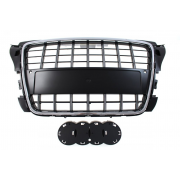 GRILL AUDI A3 8P S8-STYLE CHROME-BLACK (09-12) PDC
