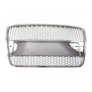 GRILL AUDI A4 B7 RS-STYLE CHROME (05-08) PDC