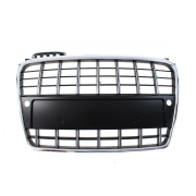 GRILL AUDI A4 B7 S8-STYLE CHROME-BLACK (05-08) PDC