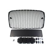 GRILL AUDI A5 8T RS-STYLE CHROME-BLACK (13-16)