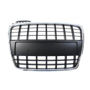 GRILL AUDI S4 S8-STYLE CHROME-BLACK (05-09)