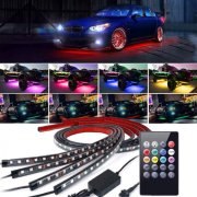 Neony LED Undercar Kit 2x90cm 2x120cm