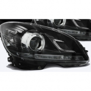 DEVIL EYES MERCEDES W204 07-10 BLACK
