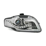 DEVIL EYES AUDI A4 B7 BLACK DRL 4/11-8/03 CHROME