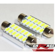 LED auto žiarovka C5W 42mm 12 SMD 5630, Canbus